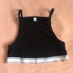 American apparel sports bra/crop top
